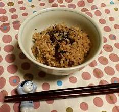 玄米炊きました